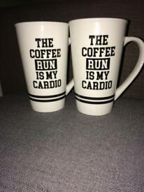 NEW COFFEE MUGS
