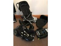 Quinny Buzz Extra Pushchair package, used for one child, very good condition , colour black.