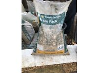 7 Bags of Stone Aggregate 4 Bags of Ballast