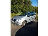 Volkswagen Touran, 2010 (10) Silver MPV, Manual Diesel, 157,000 miles