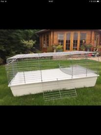 Rare - extra large Ferplast 146 cm Guinea Pig and Rabbit Cage