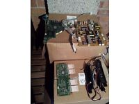 Job Lot of 85 untested LCD / Plasma / LED TV boards for spares or parts