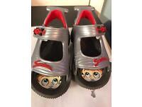 Racing car sandals