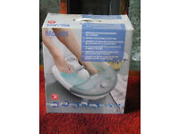 Foot Spa with Bubbles, Heat & massage functions.