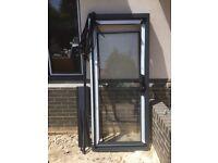External aluminium door