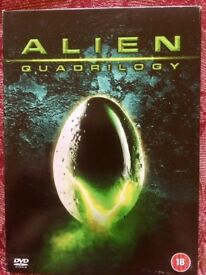 ALIEN DVD MOVIE BOX SET