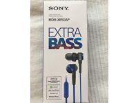Sony Extra Bass Earphones MDR-XB50AP