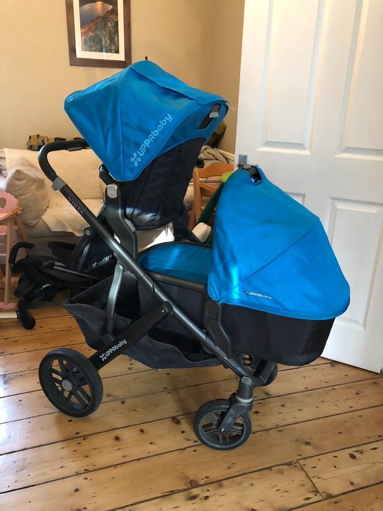 Complete Uppababy Vista 2015 With Rumble Seat Footmuff Car Seat Adapters All Covers And Manuals In Catford London Gumtree