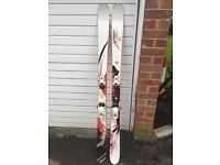 Rossignal Twin-tip Scratch BC Freeride Skis 170cm with bindings
