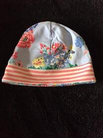 Joules baby hat 3-6 months