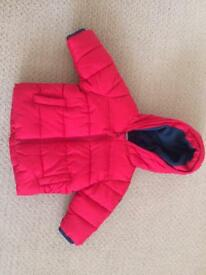 Boys coat 3-6months from NEXT