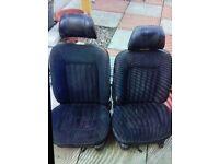 MK2 FORD ESCORT GHIA FRONT SEATS