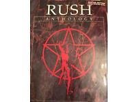 Rush guitar book