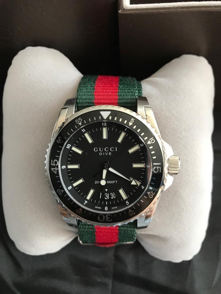 f9a5af0bb9c Gucci Dive YA136206 Mens Watch