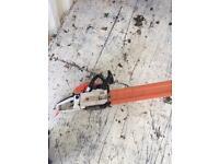 18 inches cut viper pro chain saw