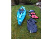 Kayak and paddling gear, VGC.