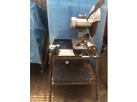 Heavy duty metal cutter with a strong self standing stand/table