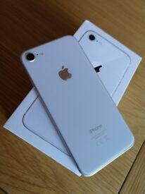 iPhone 8 64gb unlocked. Still in warranty