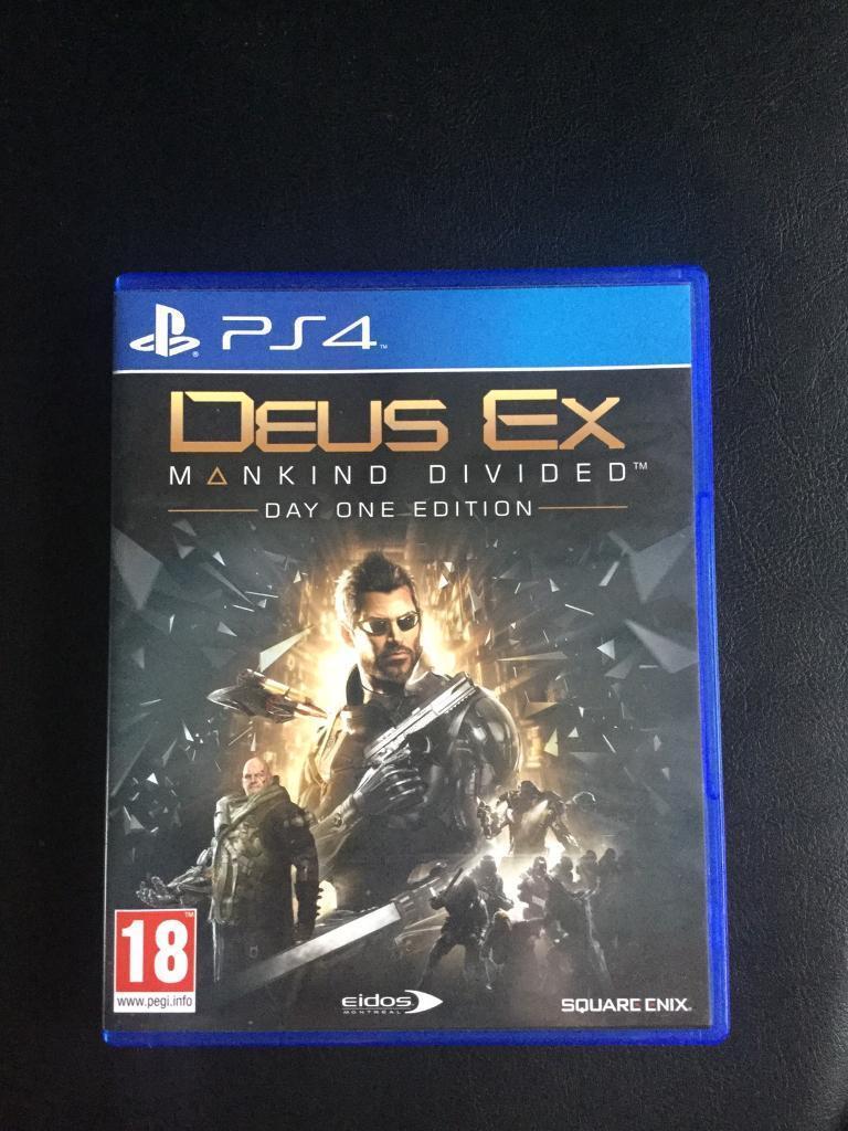 PS4 Deus Ex Mankind Division