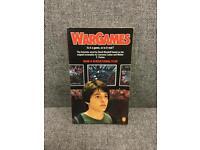 Rare WARGAMES Pb Book 80s movie Matthew Broderick Penguin David Bischoff Orange SDHC