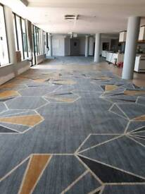 Contract carpet fitting services