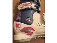 Girls Nordica Ski Boots