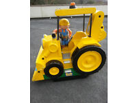 Coin opperated kids ride Bob the Builder