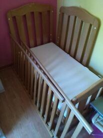 Baby cot junior bed