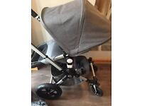 Bugaboo cameleon 3 grey melange limited classic collection immaculate condition