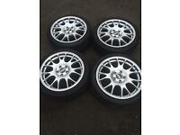 Genuine BBS CH alloys 5x112 in excellent condition VW Audi Seat