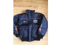 Black Audi Jacket