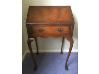 Attractive Antique Small Bureau, with Drop Down Desk and Pretty Legs