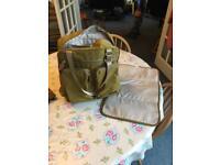 Baby change rucksack