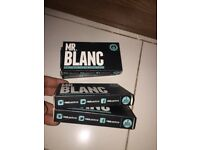 Mr Blanc teeth whitening strips 26 boxes best teeth whitening product great bargain clearance