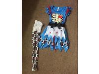Alice in Wonderland Halloween costume Fancy Dress 8-10