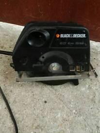 Electric disc saw