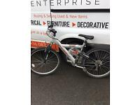 Gents Raleigh dual suspension mountain bike