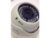 AHD HD Megapixel 1.3MP 2.8-12mml 30m Night Vision Vandal Proof CCTV Camera