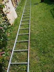 6 metre metal ladder