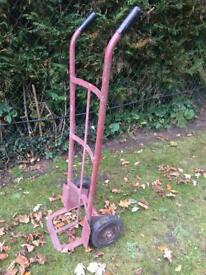 Sack barrow heavy duty sack trolley