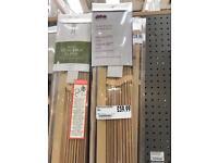 Wood slat blinds new