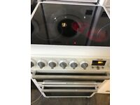 Hotpoint new model 60cm wide fully working electric ceramic plate cooker