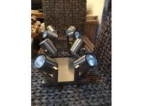 Stainless steel spot light (pair)