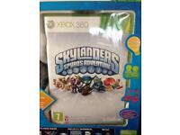 Skylanders starter pack for Xbox 360 plus 9 additional characters
