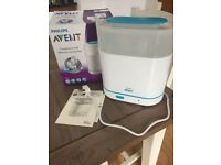 Great condition Avent 3 in 1 steriliser