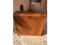 Large vintage suitcase with character - nice for storage