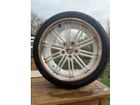 "18"" Alloy Wheels with Uniroyal 225/40/18 tyres"