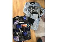 Sonneti track suit and t shirt Age 10-12