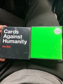 Cards against humanity Red&Green pack NEVER OPENED