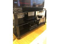 Large TV console table
